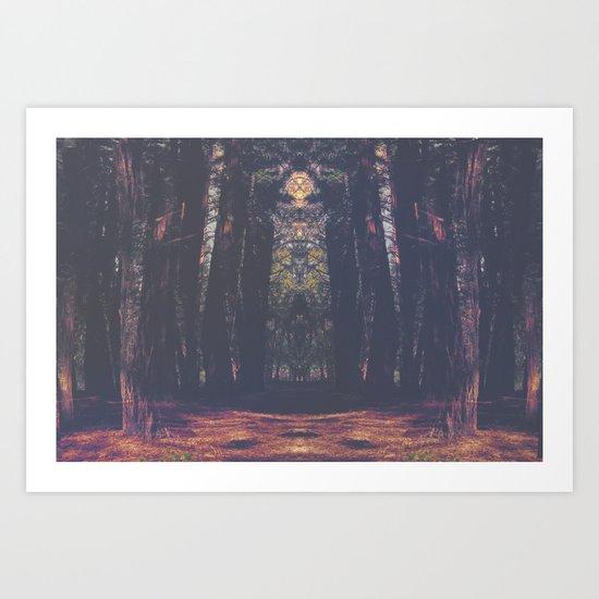 Acid Adventure Art Print