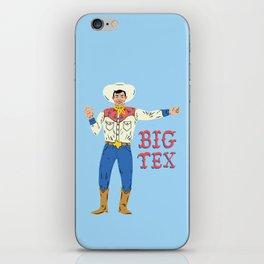 BIG TEX iPhone Skin
