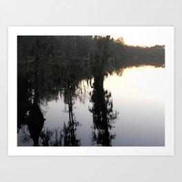 mirror image Art Print