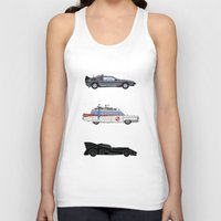 cars Tank Tops featuring Sweet Cars by PG79