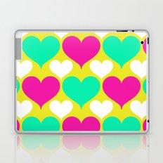 Happy hearts Laptop & iPad Skin