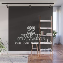 22 for Veterans Wall Mural