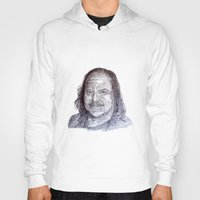 penis Hoodies featuring Ron Jeremy penis style by Florian Proust