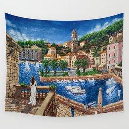 Port of Hvar, Croatia Wall Tapestry