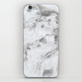 Shadow Dogs iPhone Skin