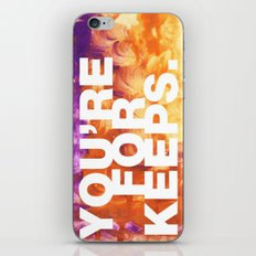 SUNDAYS ARE FOR SOULMATES / You're for keeps iPhone Skin