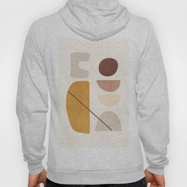 Abstract Minimal Shapes 42 Hoody