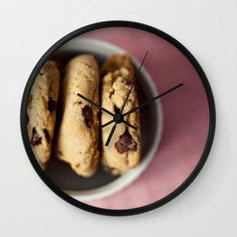 Chocolate Chip Cookies Wall Clock