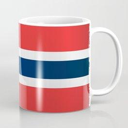 Grunge Flag of Norway Coffee Mug