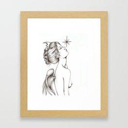 Memento Vivere, Memento Mori Framed Art Print