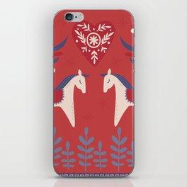 Swedish Christmas 2 iPhone Skin