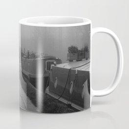 London Fog in Regents Canal III  by Diana Eastman Coffee Mug