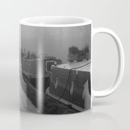London Fog in Regents Canal III  by Diana Eastman Coffee Mug
