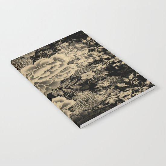 Vintage Floral Abstract Notebook