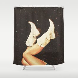 These Boots - Space Shower Curtain