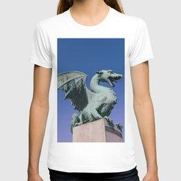 The Dragon Bridge in Ljubljana T-shirt