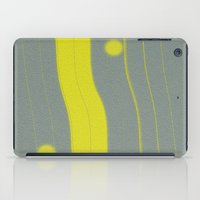 bar iPad Cases featuring Yellow Bar by Betty Mackey