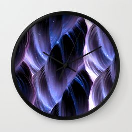 Inverted Rope Pattern Wall Clock