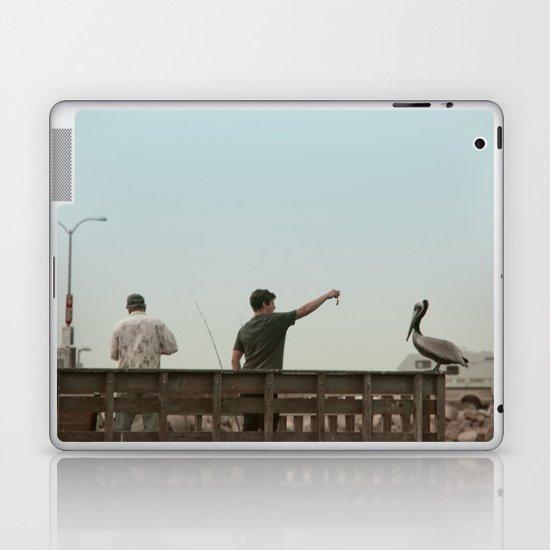 Here Birdie Birdie Birdie Laptop & iPad Skin