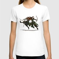 legolas T-shirts featuring Pure Elven Elegance by wolfanita