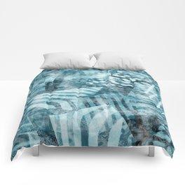 Blue safari Comforters
