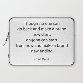 Starting – Carl Bard Laptop Sleeve