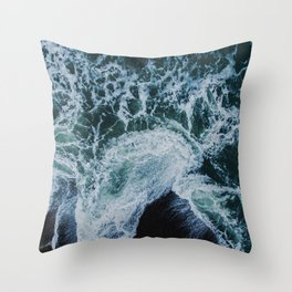 Sea 9 Throw Pillow