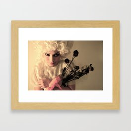 Off With Her Head (3) Framed Art Print