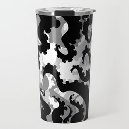 Silhouette Tentacles  Travel Mug