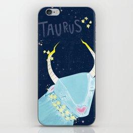 Zodiac Art: Taurus iPhone Skin