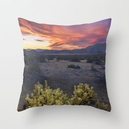 Gates of Hell Throw Pillow