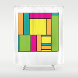 Rectangled Shower Curtain
