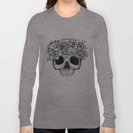 Flowerskull Long Sleeve T-shirt