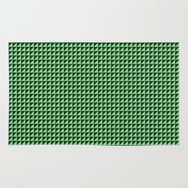 Green Triangulate Rug