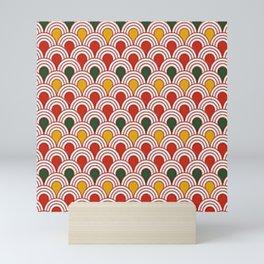 Beatiful Pattern #29 Color archs Mini Art Print