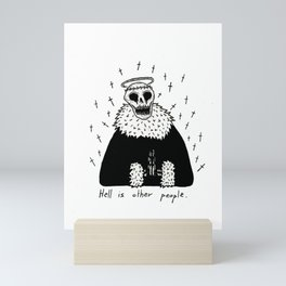 Hell Mini Art Print
