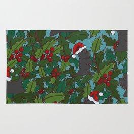 Christmas Dog Pattern Rug