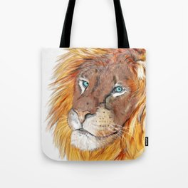 Colourful Lion Tote Bag