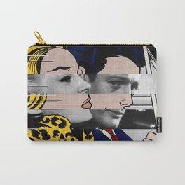 "Roy Lichtenstein's ""In the car"" & Marcello Mastroianni with Anita Ekberg Carry-All Pouch"