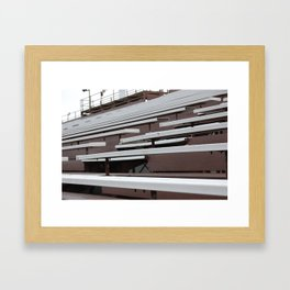 Bleachers Framed Art Print