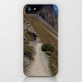 The Path to Thorung Phedi iPhone Case