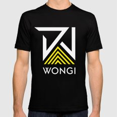 DJ Wongi 2 Mens Fitted Tee LARGE Black