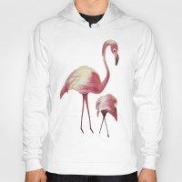 flamingos Hoodies featuring FLAMINGOS by ArtSchool