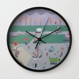 Independency Park Wall Clock