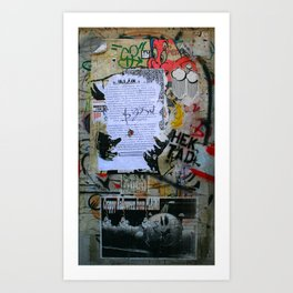 The Writings on the Wall Art Print