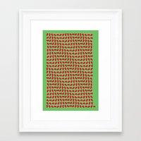 drunk Framed Art Prints featuring Drunk by John Stadler