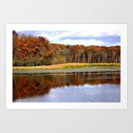 Autumn Scene Art Print