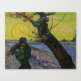 Vincent van Gogh - The Sower, 1888 Canvas Print