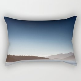 San Juan Islands Rectangular Pillow