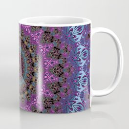 colorful fractal kaleidoscope Coffee Mug